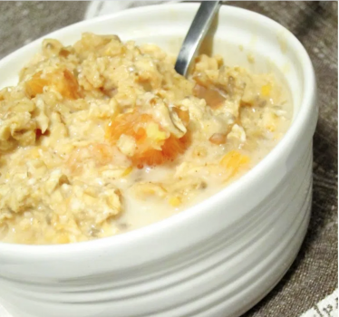 Overnight Tea-Steeped Oatmeal