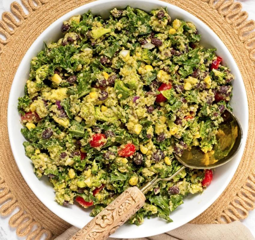 Vegan Avocado Quinoa Salad