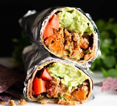 Loaded Lentil Burritos