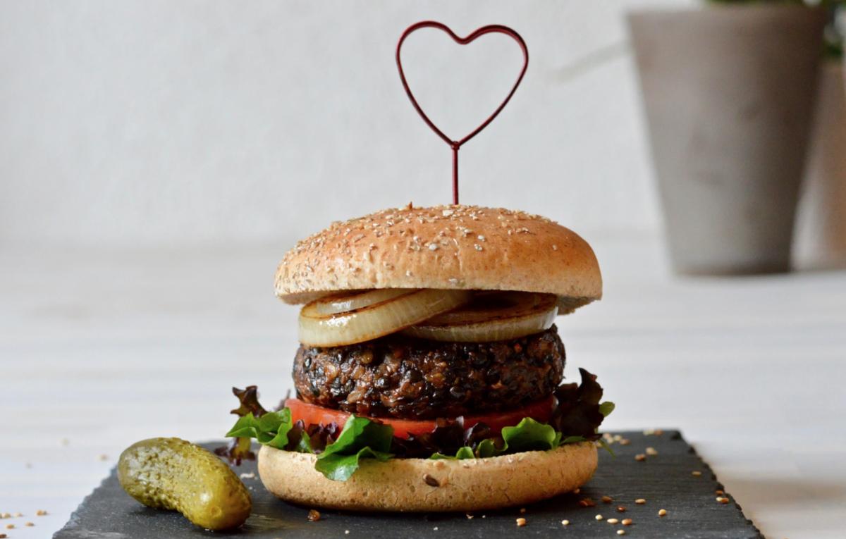 Vegan Heart-Healthy Burger