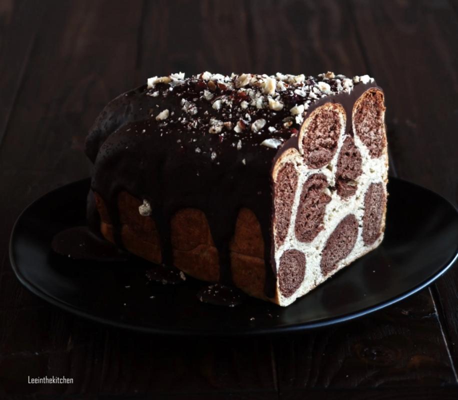 Vegan Leopard Bread