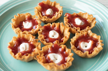 Guava and Cheese Mini Tarts