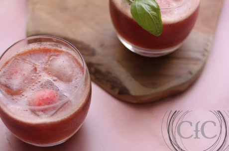 Loaded Strawberry Basil Lemonade