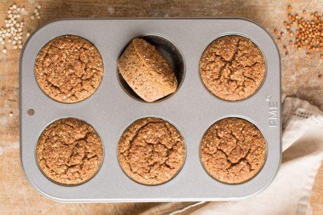 Savory Sorghum Muffins
