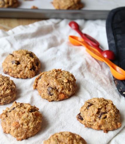 sweet potato power cookies