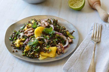 Lentil, Herb, and Mango Salad