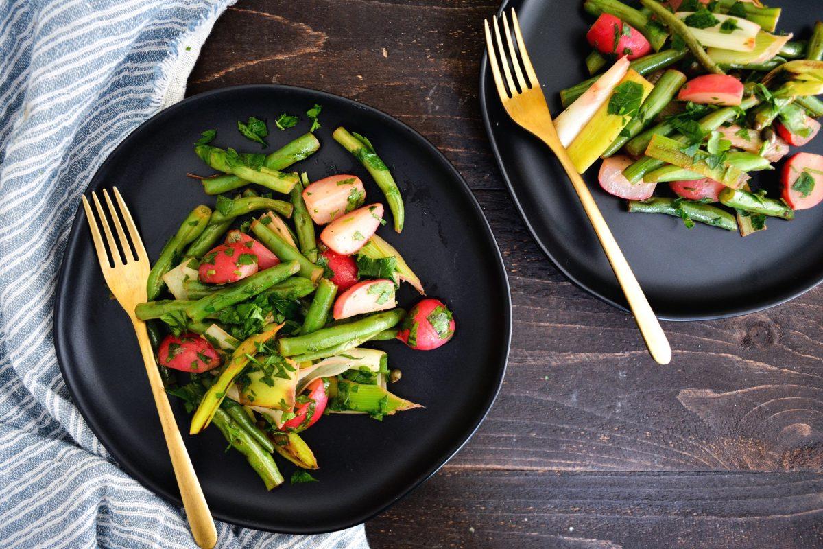 Vegan Summer Vegetable Sauté