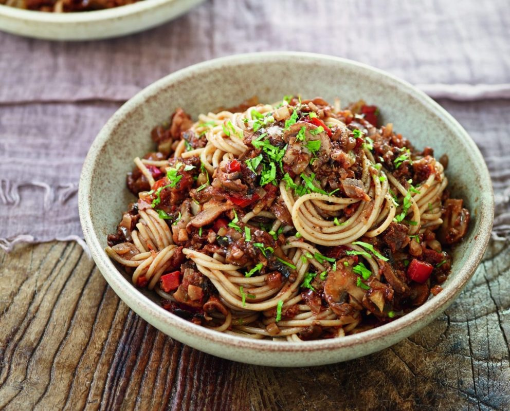 From Mushroom and Walnut Ragu to Cauliflower & Red Quinoa Risotto: Our Top Eight Vegan Recipes of the Day!