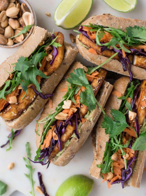 Vegan Picnic Perfect Crispy Tofu Sandwiches