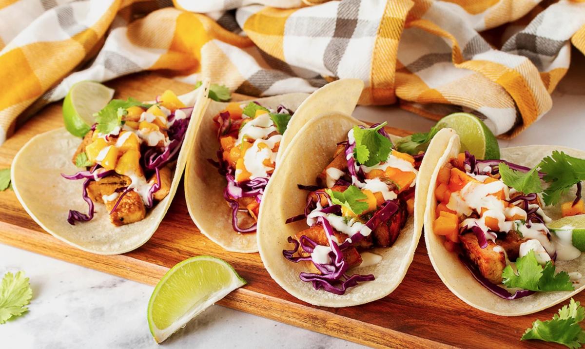 Vegan Seaside Luau Tacos