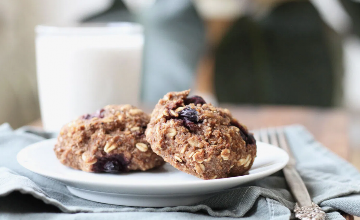 Quinoa Blueberry Breakfast Scones Vegan