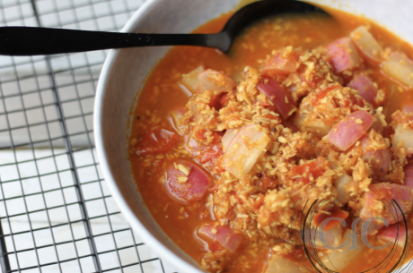 Indian Style Radish – Coconut Stew