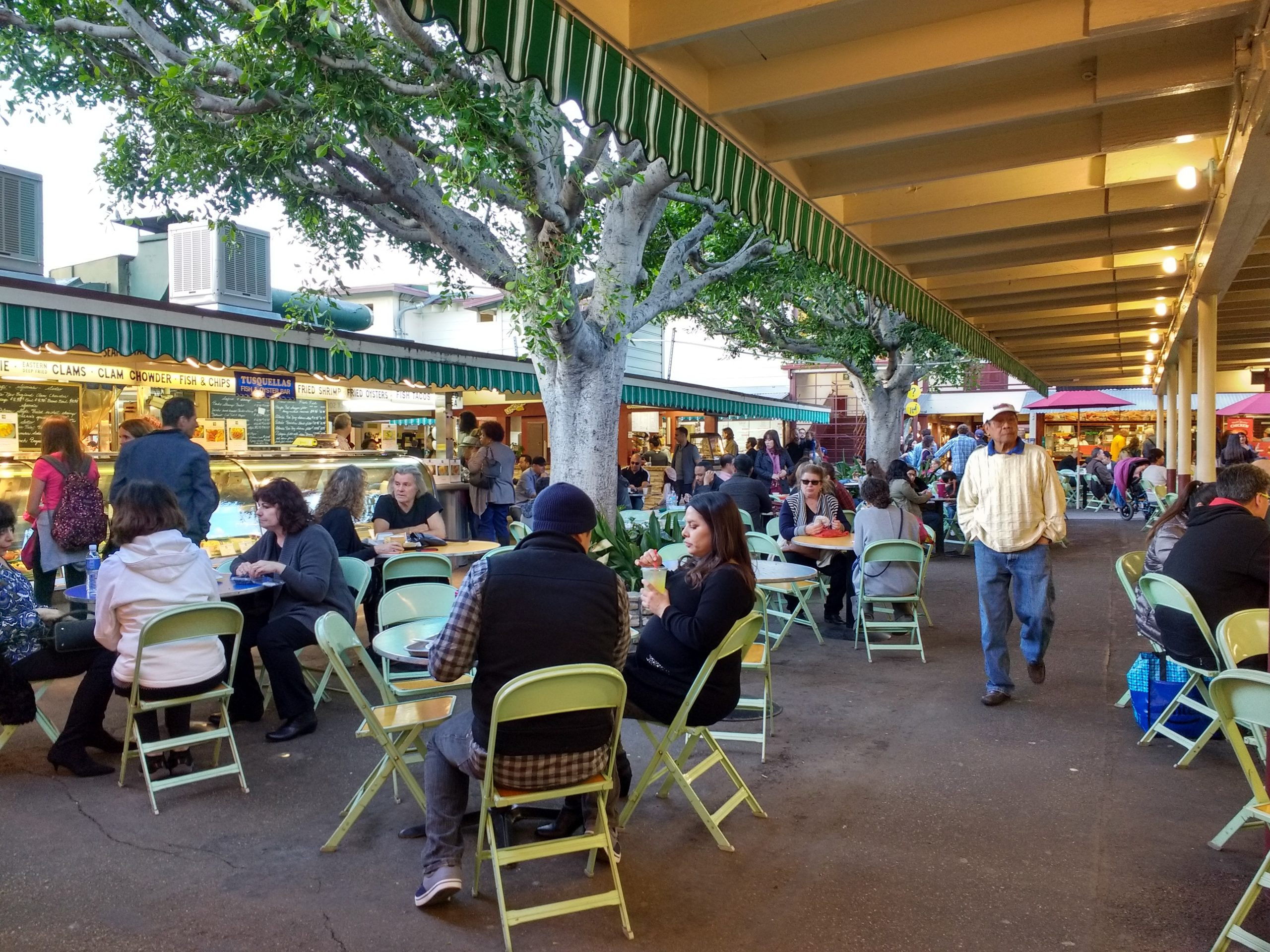 california outdoor dining