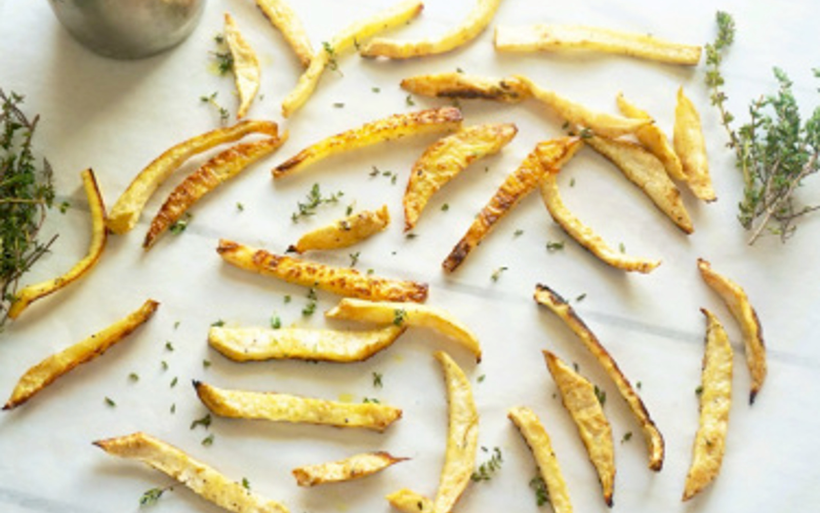 Truffle and Thyme Celeriac Fries