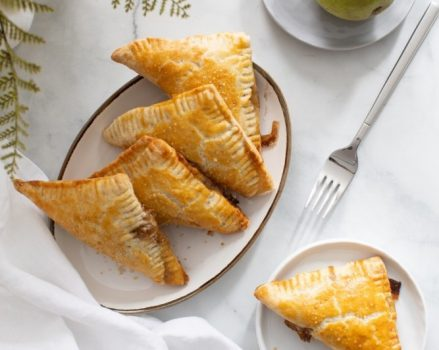 Spiced Pear Turnovers