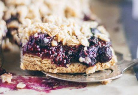 berry oat bar