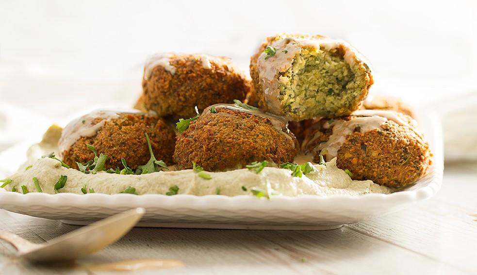 Vegan Healthy Falafel
