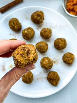 Pumpkin Spice Protein Balls