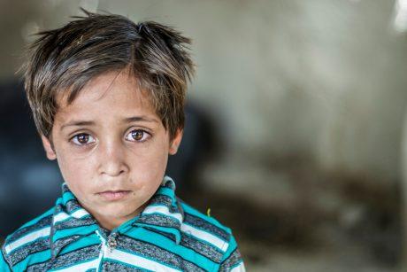 sad refugee