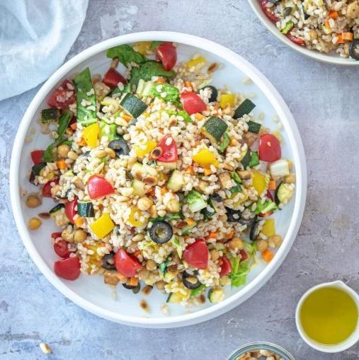 Vegan Italian Rice Salad