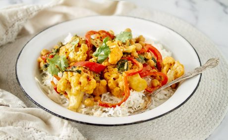One-Pot Thai Cauliflower Curry