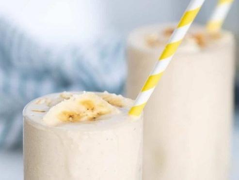 Vegan Easy Peanut Butter Banana Oats Smoothie