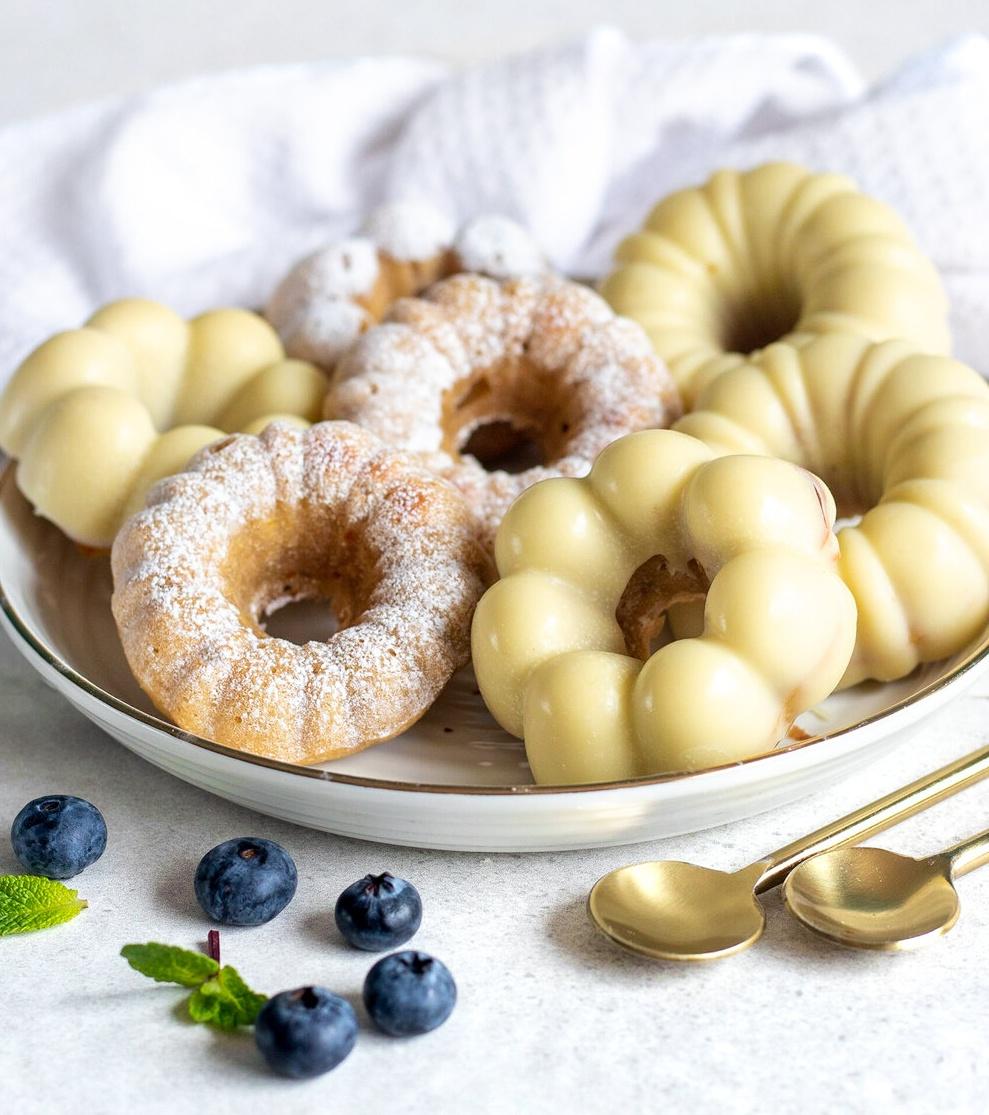 lemon blueberry donuts