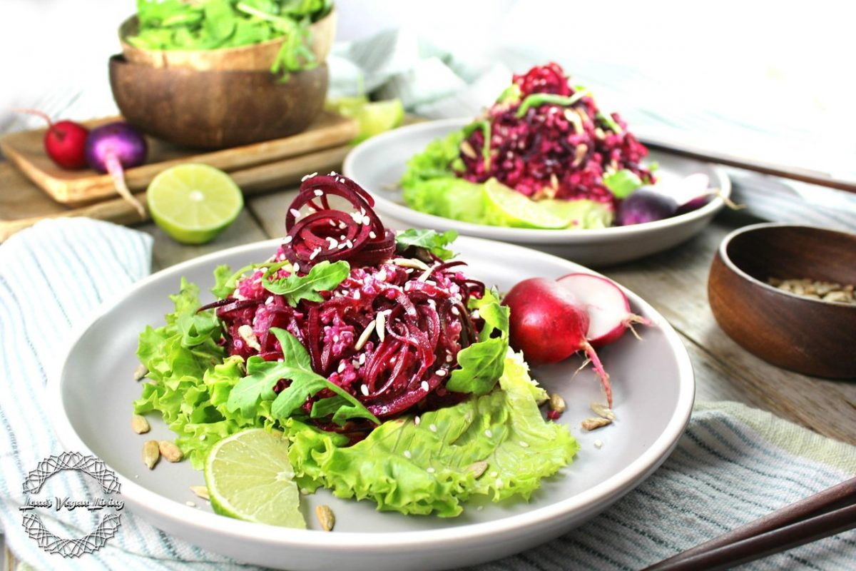 Beet Salad with Quinoa