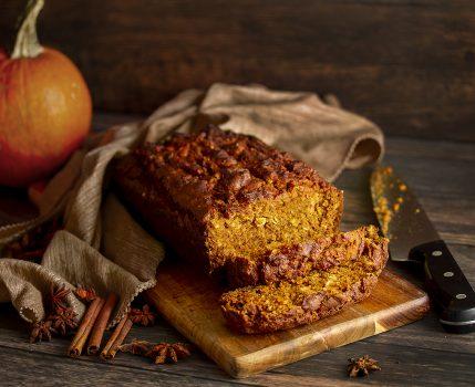 Pumpkin Spice & Oat Loaf