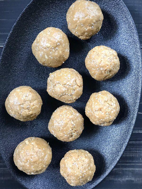 Salted Caramel Protein Balls [Vegan, Gluten-Free]
