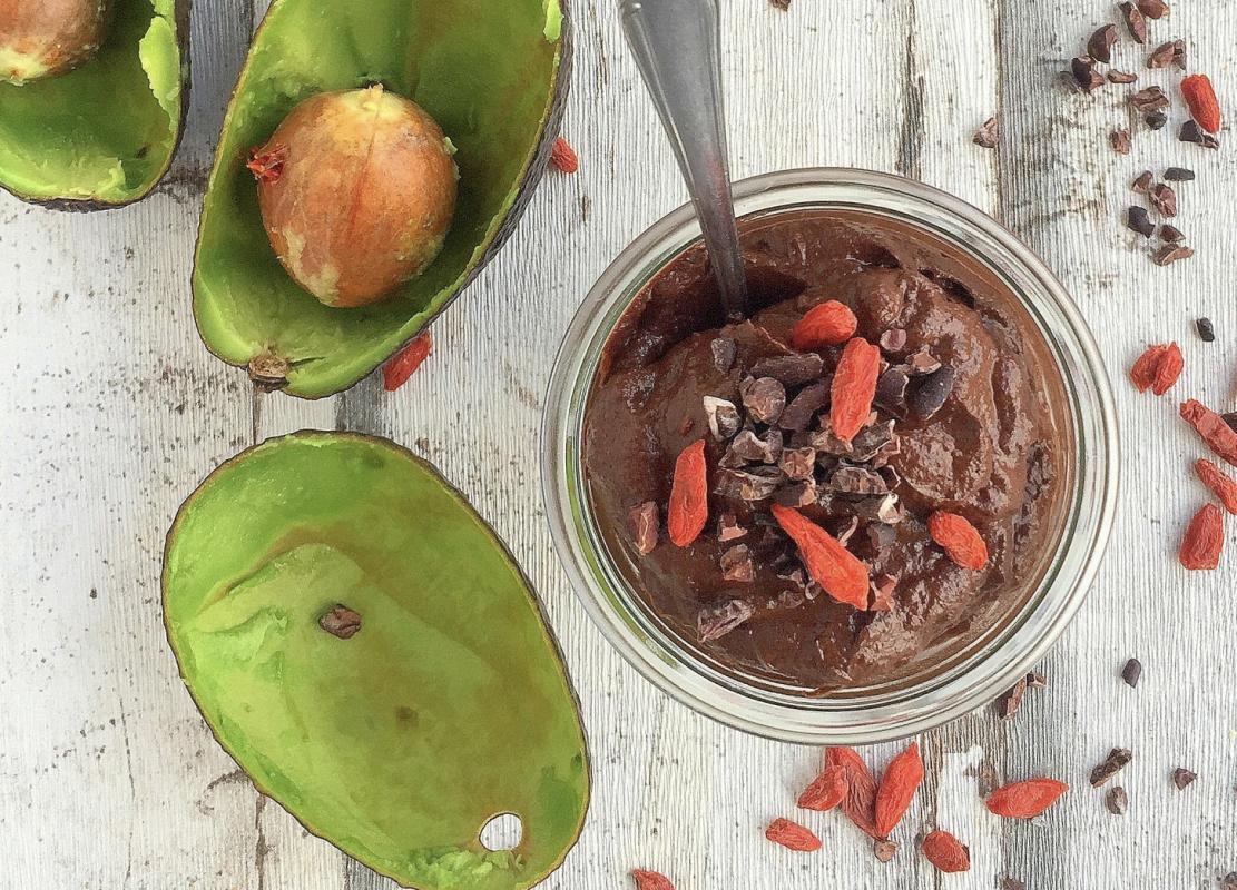 Vegan Chocolate-Cinnamon Mousse
