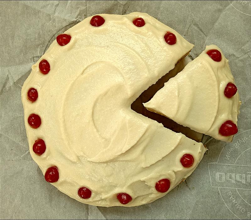 Whole Wheat Vanilla Cake