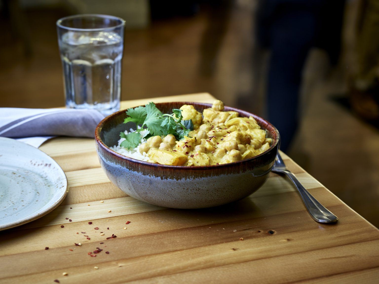 Vegan Chickpea and Pumpkin Curry