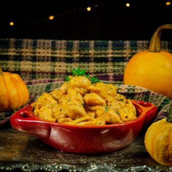 One Pot Vegan Pumpkin Mac And Cheese