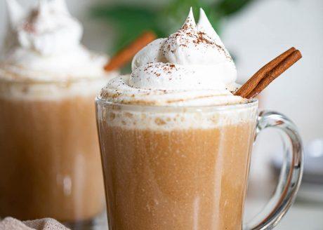 Easy Warm Apple Chai Latte