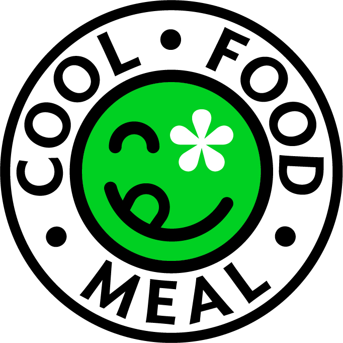 cool food meal badge