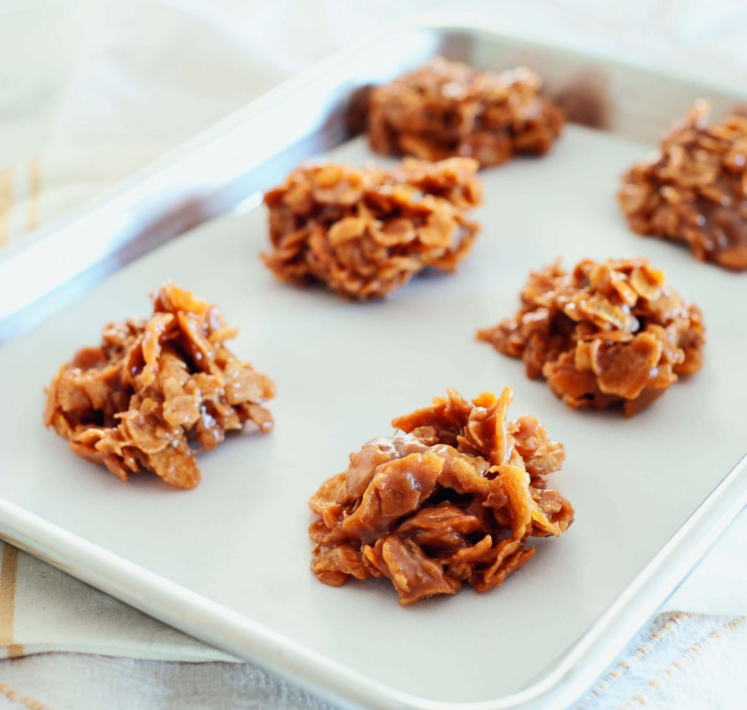 Vegan Intensely Addictive Cornflake Cookies with Chocolate Chips