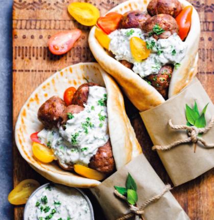 Boulettes de viande à la grecque