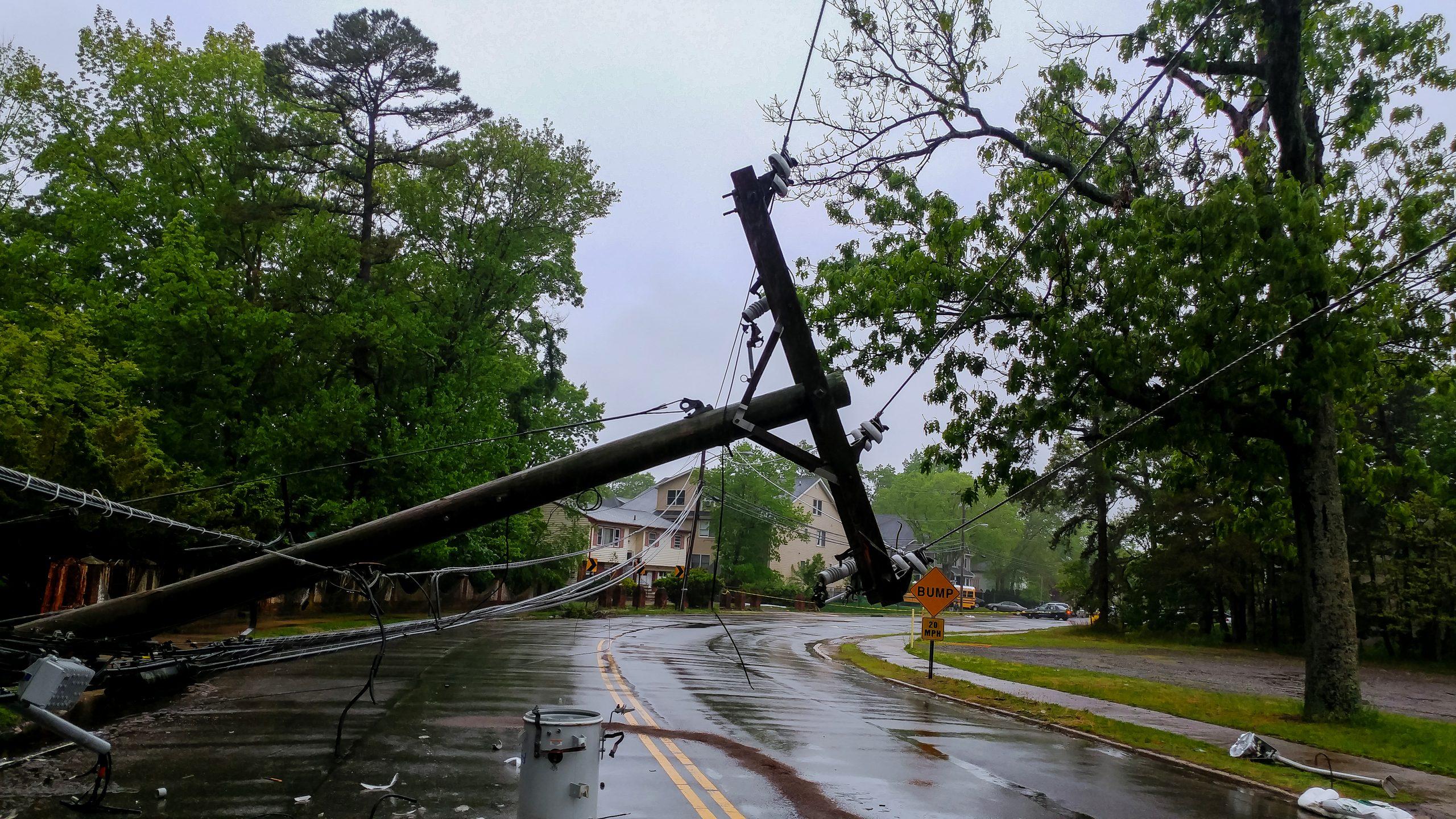 destruction after storm