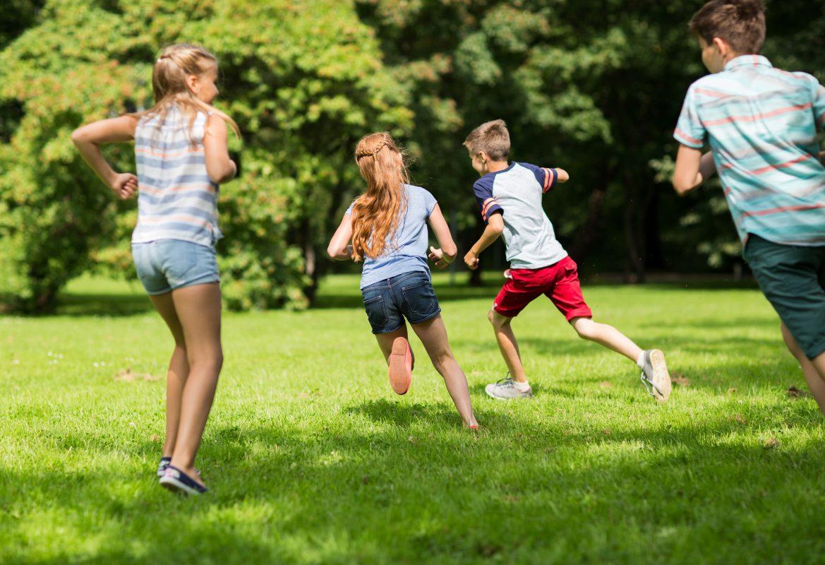 Kid Running