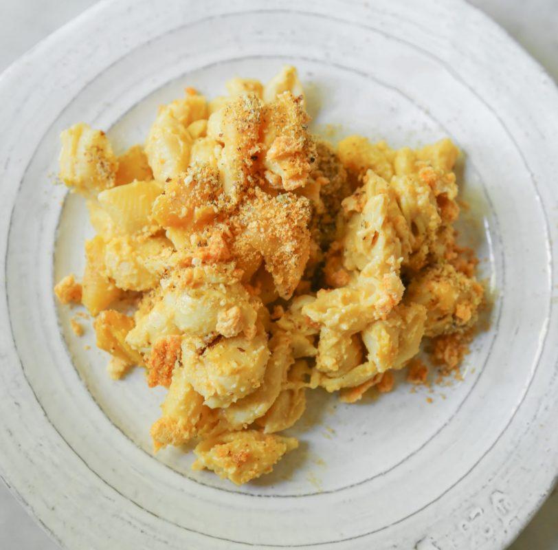 Vegan Baked Mac n' Cheez
