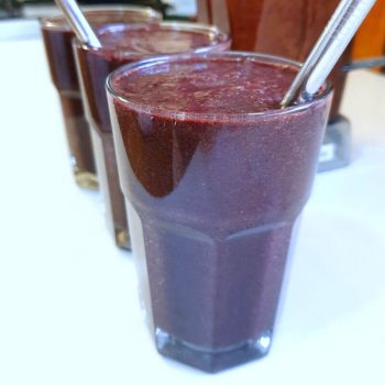 Cilantro Blueberry Detox Smoothie