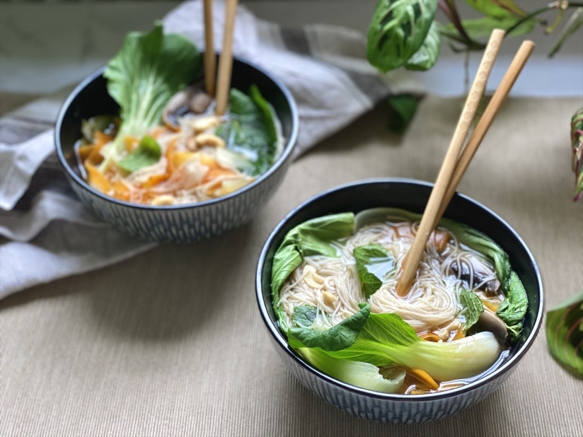 Hearty and Simple Ramen