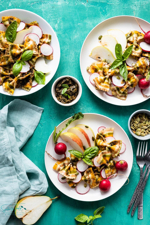 Pear and Radish Basil Pesto [Vegan]