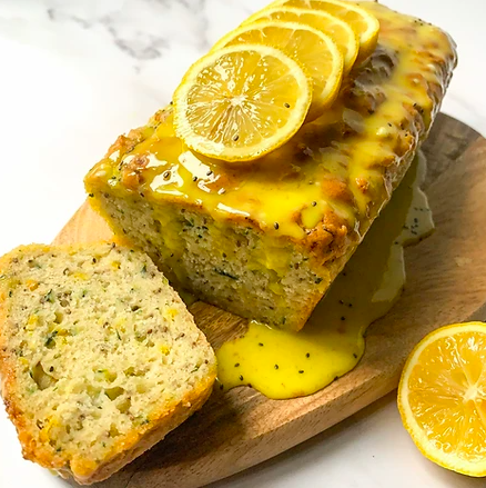 Vegan Lemon and Zucchini Loaf Cake