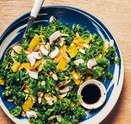 salade de chou frisé