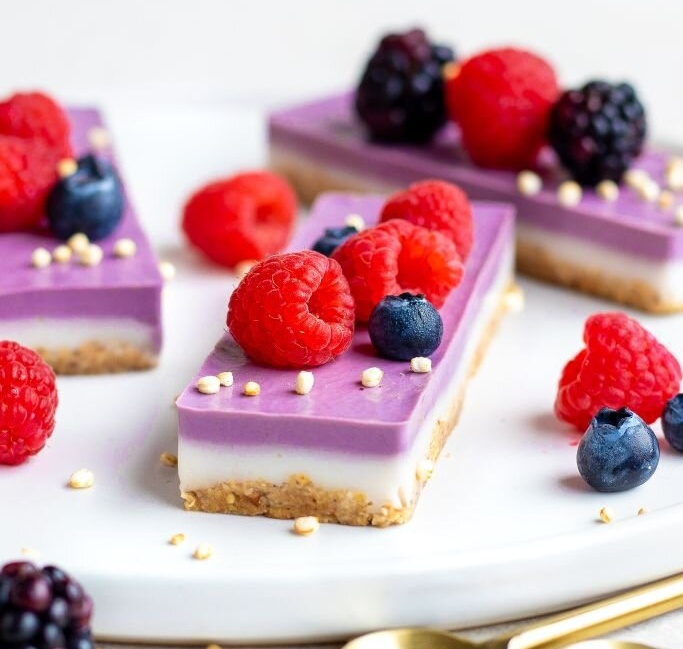 Vegan Super Berry Bars