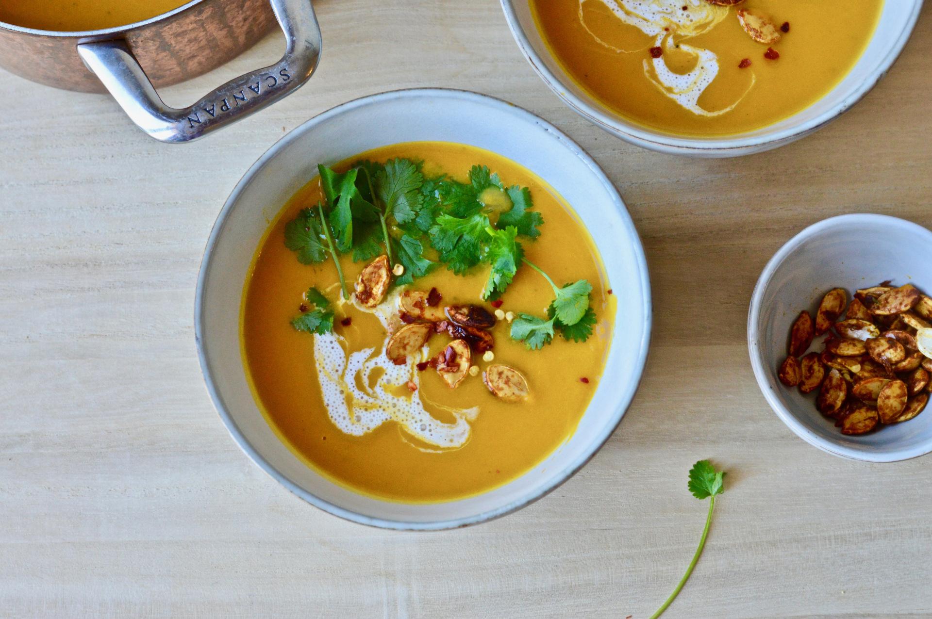 Roasted Potimarron Thai Soup