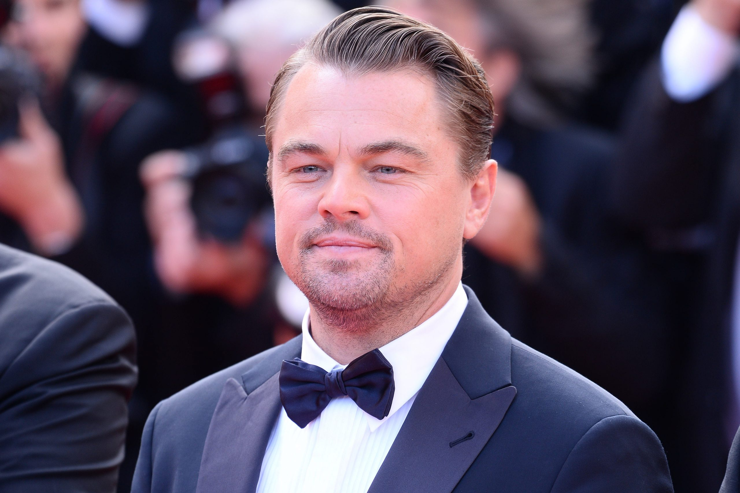 """CANNES, FRANCE - MAY 21, 2019: Premiere of the film """"Once Upon A Time In Hollywood"""" during the 72nd Cannes Film Festival - Leonardo DiCaprio"""