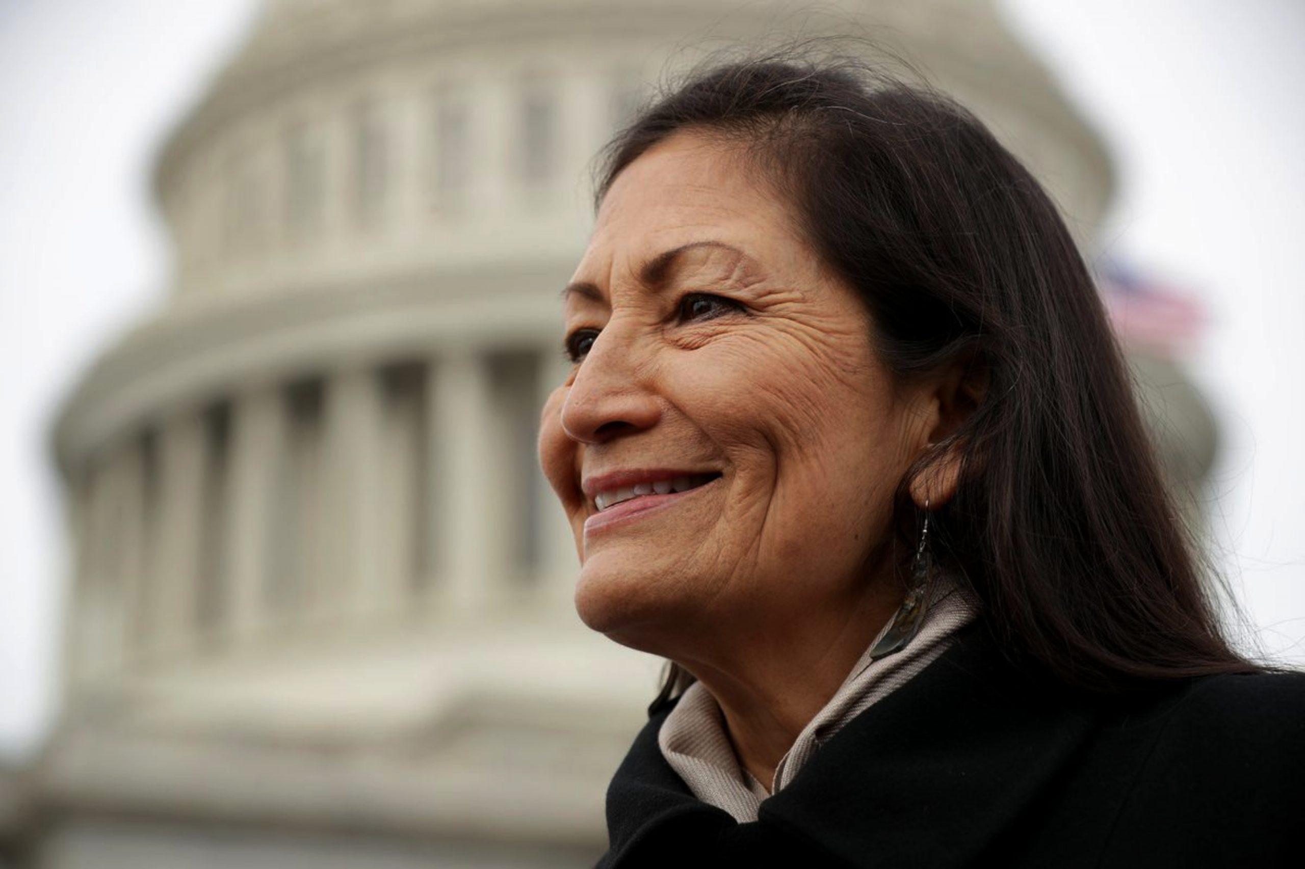 Washington, USA 12 18 2020 deb haaland is an american politician